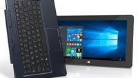 Trekstor Surftab Duo W2: 11,6 Zoll Windows 10 Tablet mit Tastatur-Dock & Stiftoption