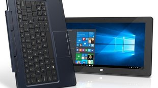Trekstor Surftab Duo W2: 11,6 Zoll Windows 10 Tablet mit Tastatur-Dock & Stiftoption