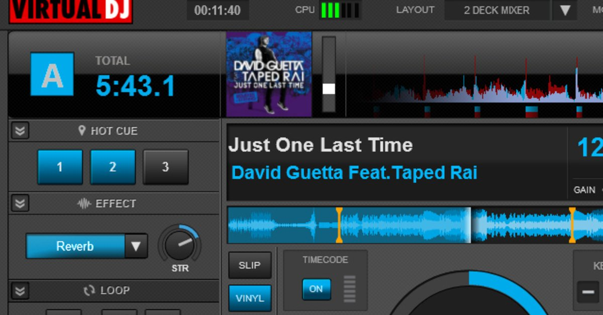 Learn virtual dj home free
