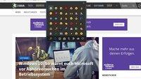 Tipp des Tages: Emoji in Windows 10 mit Tastenkombination aufrufen