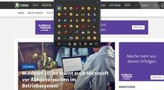 Emoji in Windows 10 mit Tastenkombination aufrufen – so geht's