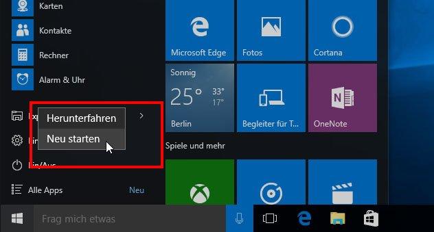 Auch wenn ihr Windows 10 neu startet, sollte der Nummernblock mit der Registry-Änderung weiterhin aktiviert sein.