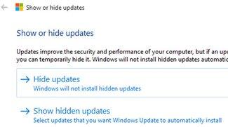 Windows-10-Updates deaktivieren (Microsoft Hotfix)