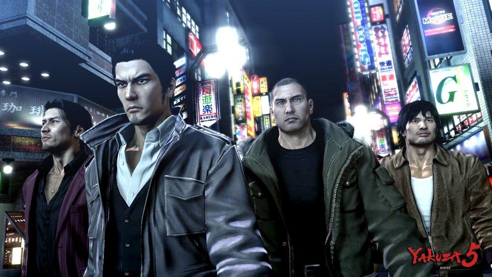 Yakuza 5: Wie schon im Vorgänger kontrolliert ihr mehrere Charaktere.