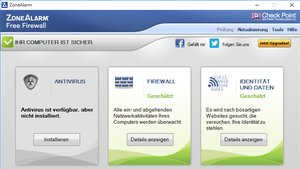 ZoneAlarm Free Firewall