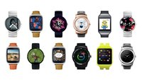 Android Wear: Update bringt interaktive und verlinkte Watchfaces; G Watch R erhält WLAN
