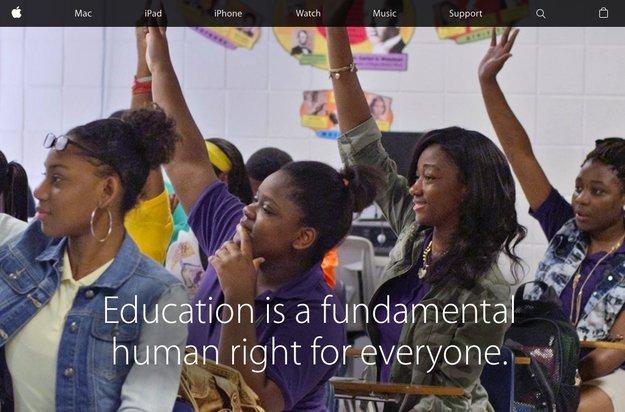 """Apple will """"Digital Divide"""" an US-Schulen beenden"""
