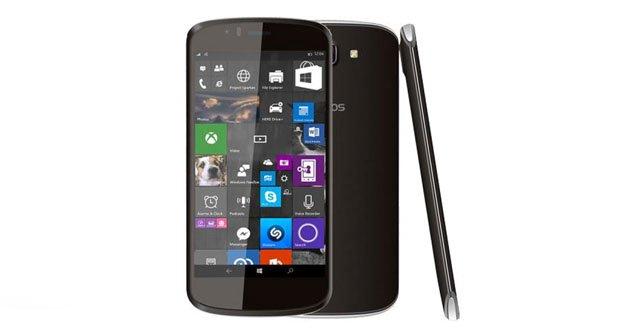 Das Archos Cesium 50 wird mit Windows 10 Mobile ausgeliefert.