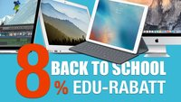 Spare als Schüler, Lehrer, Student bis zu 30 % beim Kauf eines Apple Rechners!