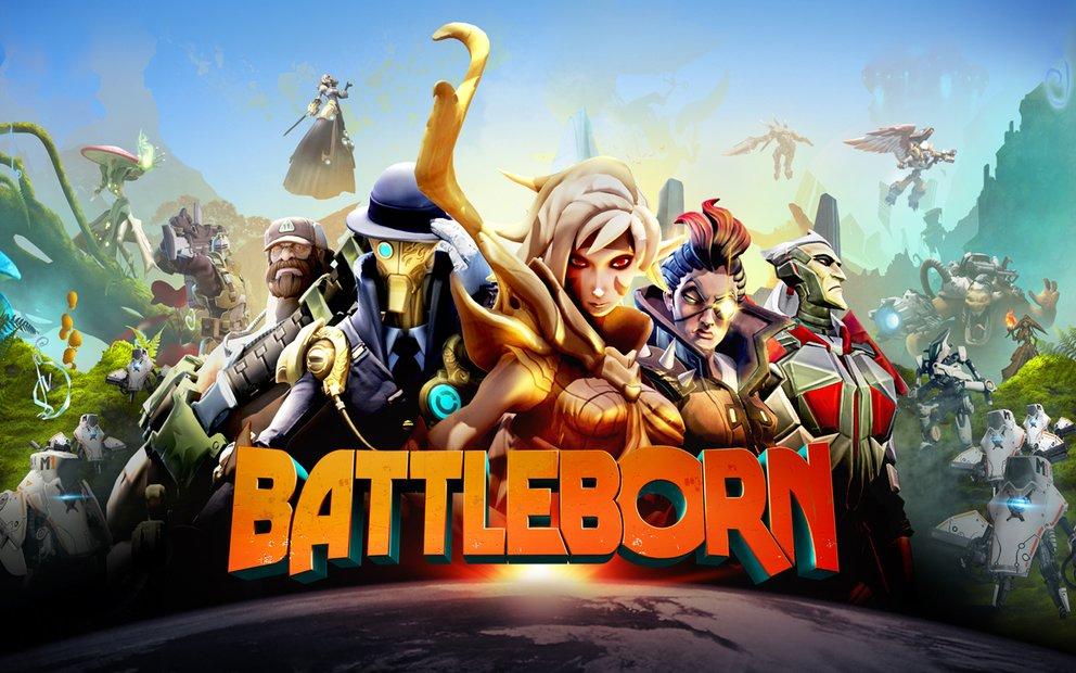 Spielt ihr allein oder mit Freunden? Bei Battleborn könnt ihr beides.