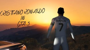 Cristiano Ronaldo meets GTA 5: Video zeigt Real Madrid-Star in Los Santos
