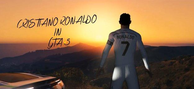 Cristiano Ronaldo meets GTA 5: Video zeigt Real Madrid-Star in Los Santos