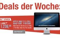 260 Euro auf iMac sparen! Dazu AppleCare, Apple TV, AirPort Express, Time Capsule vergünstigt