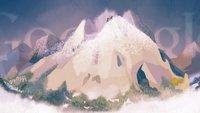 Erstbesteigung des Mont Blanc - alpines Google-Doodle zum 229. Jahrestag einer großartigen Leistung