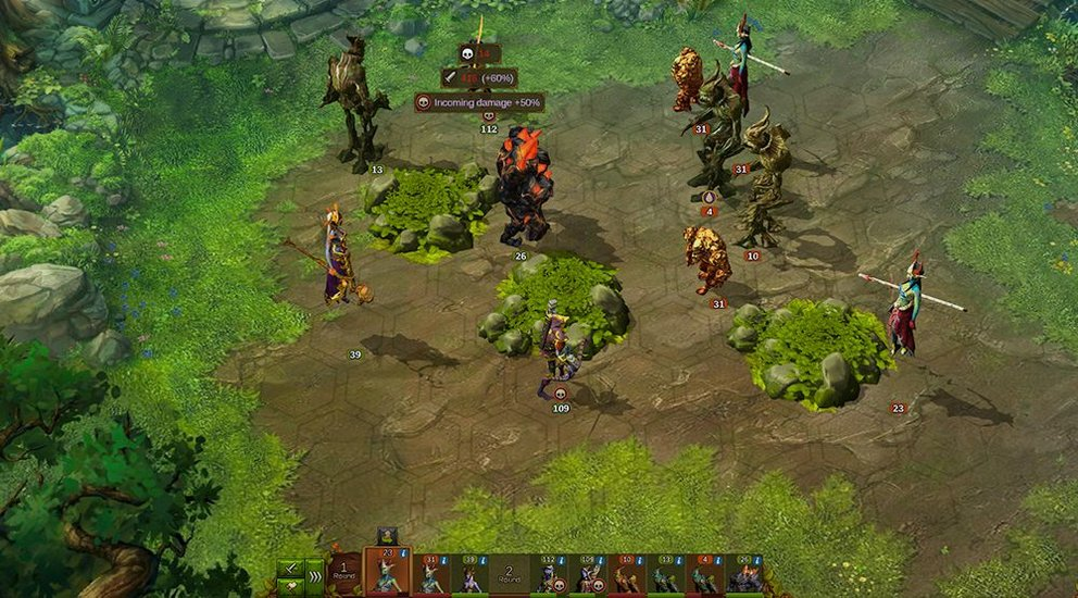 Elvenar: Das Kampfsystem bietet taktische Spieltiefe.