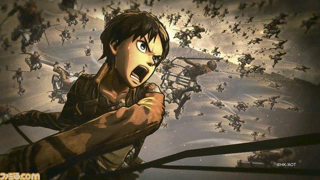 Attack on Titan: Die ersten Bilder zum Koei Tecmo-Titel sind da!