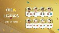 FIFA 16 Ultimate Team: Neue Legenden mit Stärken und Übersicht aller legendären Spieler
