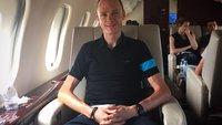 Apple Watch trifft Tour de France: Radprofi Chris Froome trainiert mit Smartwatch am Handgelenk