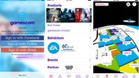 gamescom-App - The Official Guide: die Messe meistern mit iPhone & Android-Phone
