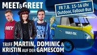 Redakteure zum Anfassen: Trefft uns auf der gamescom!
