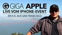 iPhone 6s Event: GIGA berichtet Live aus San Francisco
