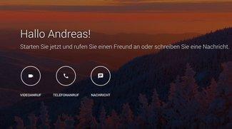 Google Hangouts bekommt eigene Webseite