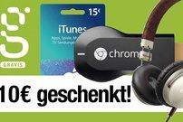 Gravis verschenkt 10 Euro (PayPal-Gutschein)!</b>