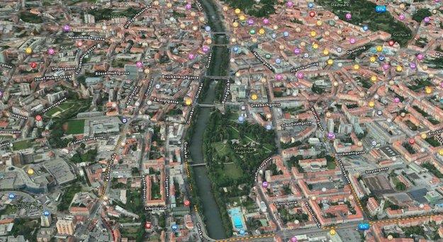 Apple-Karten-App: Flyover jetzt auch in weiteren Städten
