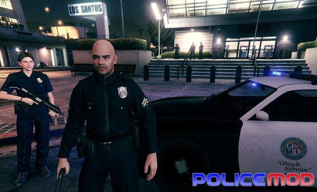 Police Mod für GTA 5