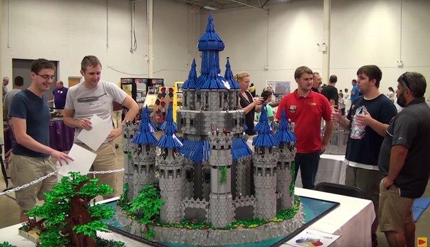 2,5 Jahre Arbeit für dieses LEGO-Zelda-Schloss - schaut es euch an!
