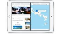 iPad mini 4: Neue Hardware soll Multitasking im Split-Screen-Mode erlauben