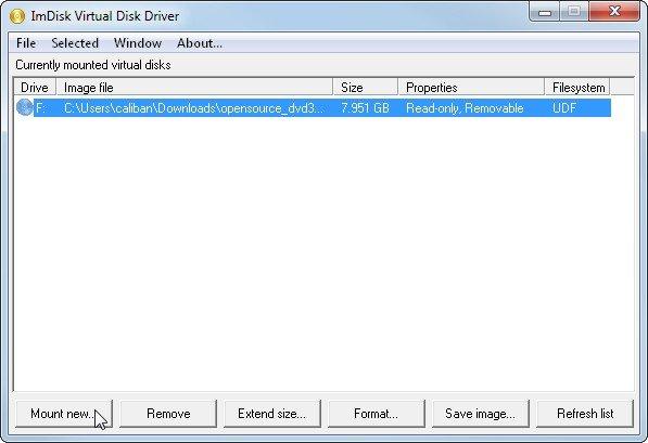 imdisk-virtualdisk-uebersicht