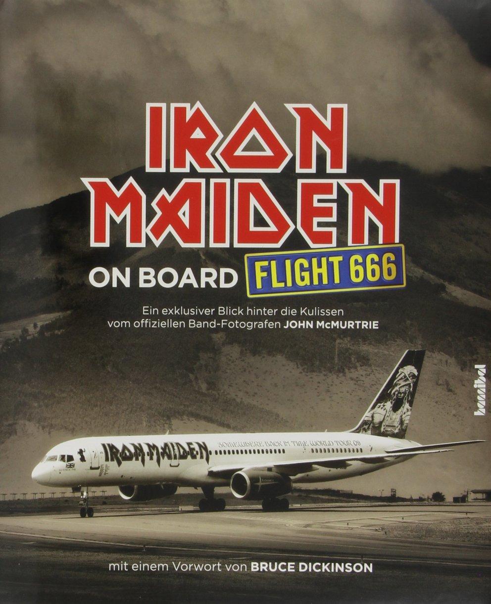 zahlen bedeutung flight 666 iron maiden buchcover