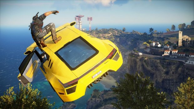 Just Cause 3: Burnt It-Trailer zeigt Ricos geballte Feuerkraft