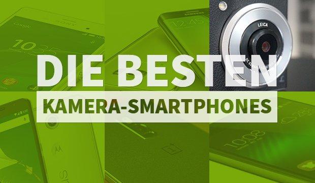 Die 10 besten Kamera-Handys: Von günstig bis High-End