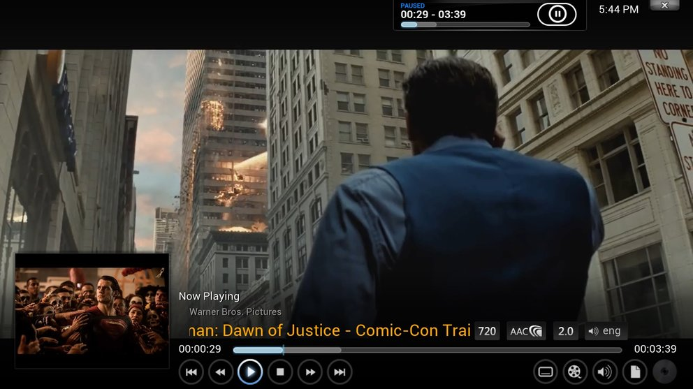 Youtube und Kodi 720p