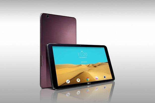 LG G Pad II 10.1: 10 Zoll-Tablet mit Full HD-Screen und Snapdragon 800 angekündigt, Vorstellung auf der IFA