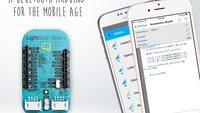 iPhone steuert blaue Bohne: LightBlue Bean+, via Bluetooth programmierbarer Arduino-Klon