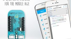 iPhone steuert blaue Bohne: LightBlue Bean+, via Bluetooth programmierbarer Arduino-Klon