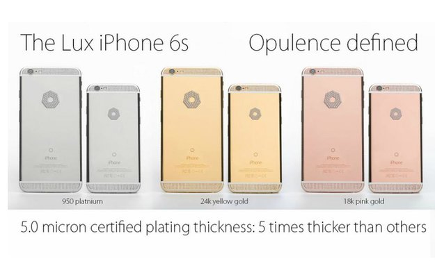 "iPhone 6s ""Diamond Omni"":  Luxusversion ab 150.000 Dollar vorbestellbar"