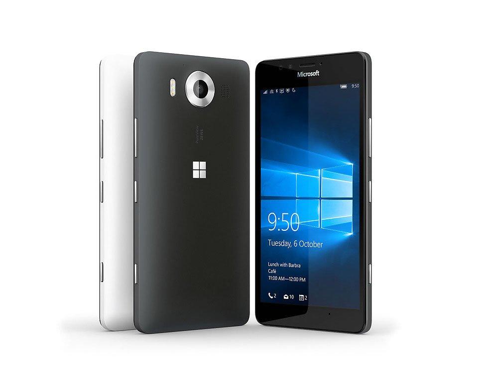 Das Microsoft Lumia 950 kommt mit 3 GB RAM und Qualcomm Snapdragon 808 Prozessor.