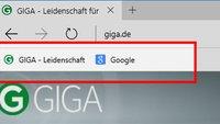 Microsoft Edge: Lesezeichen- / Favoritenleiste anzeigen – So geht's