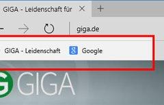 Microsoft Edge: Lesezeichen- /...