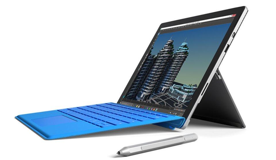 Das Surface Pro 4 kommt mit Highend-Hardware und einem 13,2-Zoll-Display.