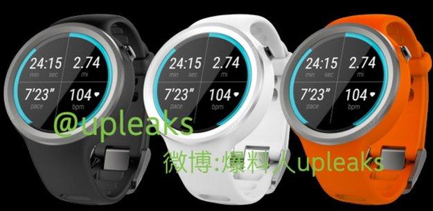Moto 360 Sport: Buntes Smartwatch-Modell geleakt [Gerücht, Update]