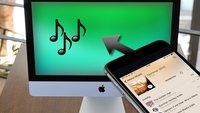 Musik vom iPhone (& iPod & iPad) auf den Mac übertragen