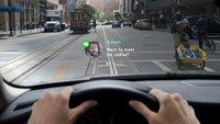 Apple Car mit Head-Up-Display: Smarte Windschutzscheibe geplant?