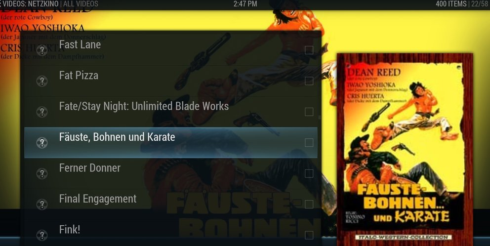 Netzkino kodi add on