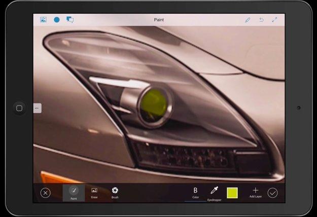 """Adobes """"Project Rigel"""": Photoshop für jedermann für iPhone und iPad"""