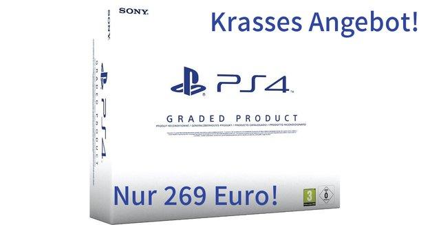 Krasse Deals: Generalüberholte PS4 für 269 € + 1 Jahr Herstellergarantie & bunte PS4s aufgetaucht